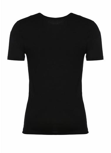 Zimmerli V Yaka Tişört Siyah